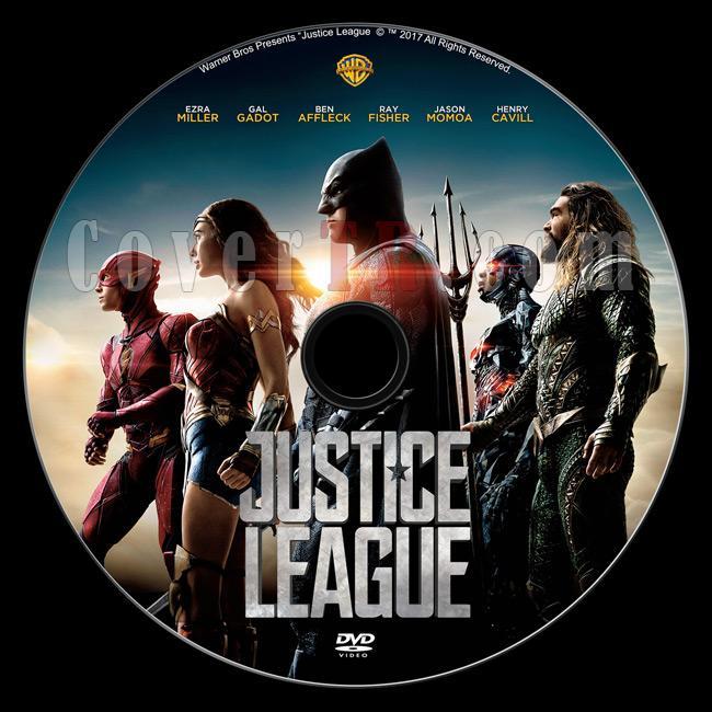 Justice League - Custom Dvd Label - English [2017]-dvd1jpg