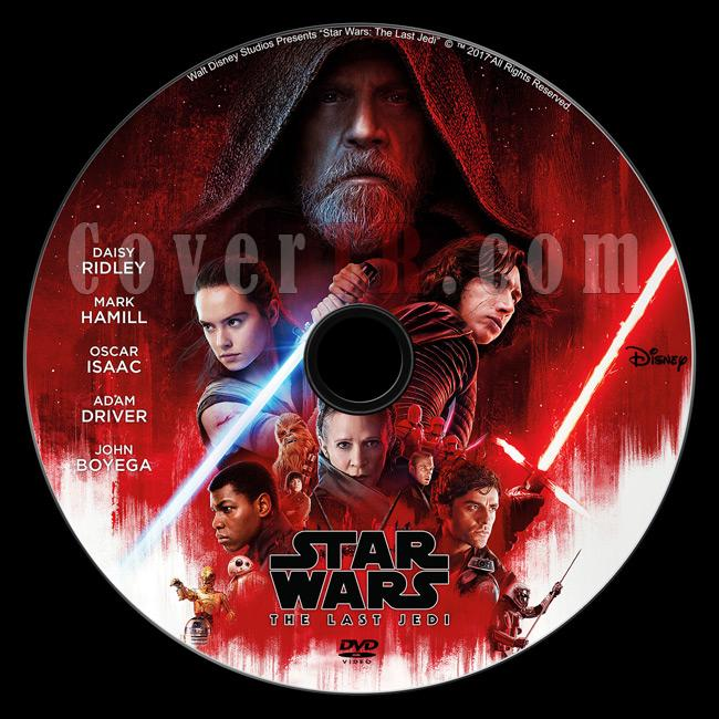 Star Wars: The Last Jedi - Custom Dvd Label - English [2017]-d2jpg
