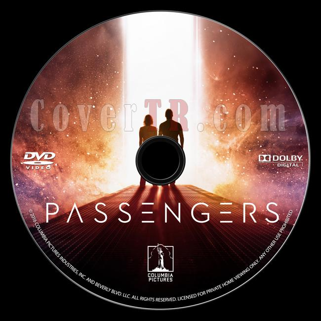 Passengers (Uzay Yolcuları) - Custom Dvd Label - English [2016]-onizlemejpg