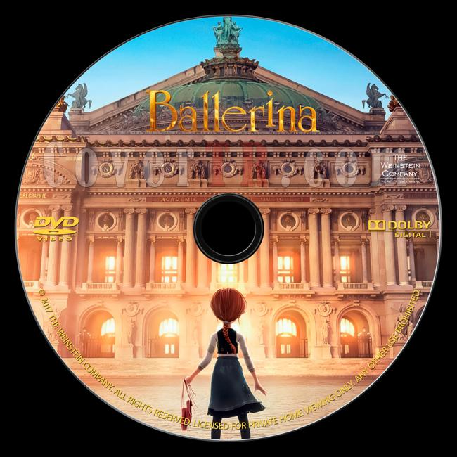 Ballerina (Balerin ve Afacan Mucit) - Custom Dvd Label - English (2016)-onizlemejpg