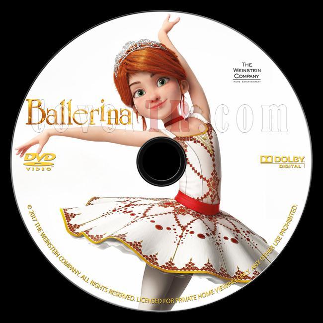 Ballerina (Balerin ve Afacan Mucit) - Custom Dvd Label - English (2016)-onizlemejpg