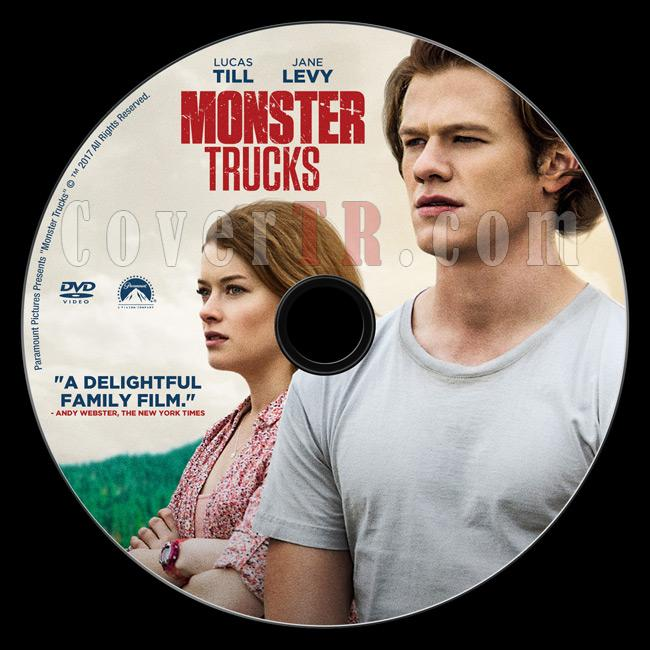 Monster Trucks (Canavar Kamyonlar) - Custom Dvd Label - English [2017]-2jpg