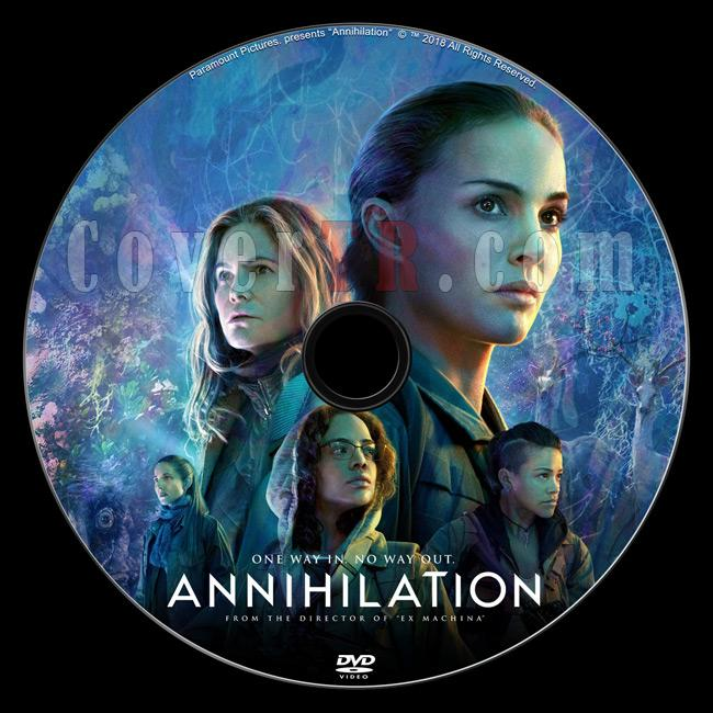 Annihilation (Yok Oluş) - Custom Dvd Label - English [2018]-1jpg