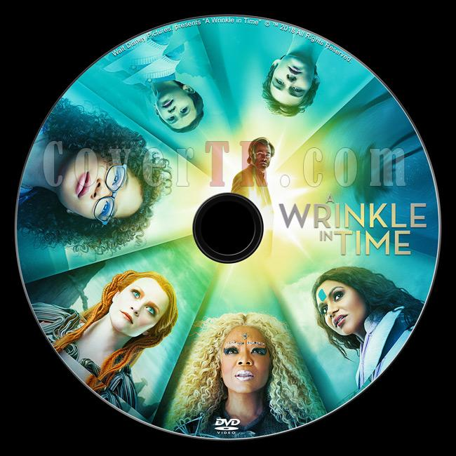 A Wrinkle in Time (Zamanda Kıvrılma) - Custom Dvd Label - English [2018]-1jpg