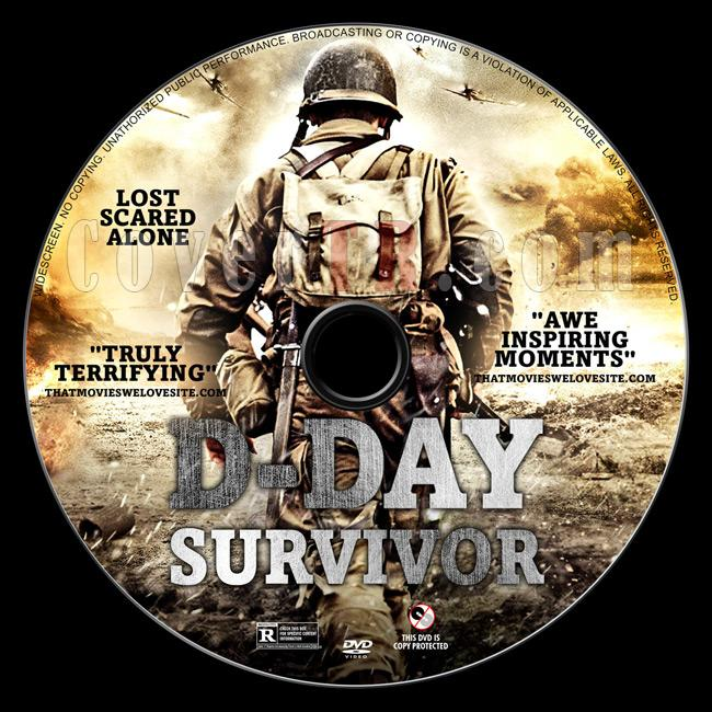 D-Day Survivor - The War I Knew (Tek Başına) - Custom Dvd Label - English [2014]-04jpg