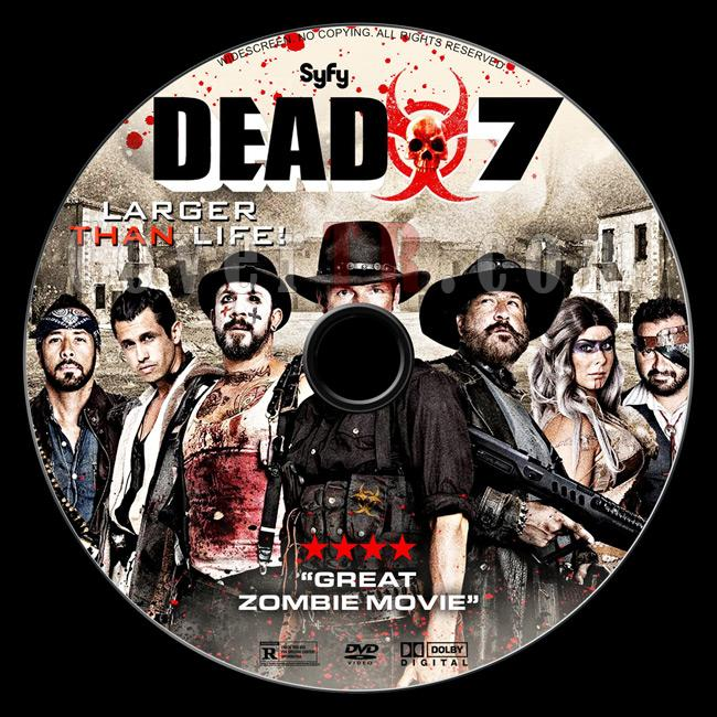 Dead 7 - Custom Dvd Label - English [2016]-02jpg