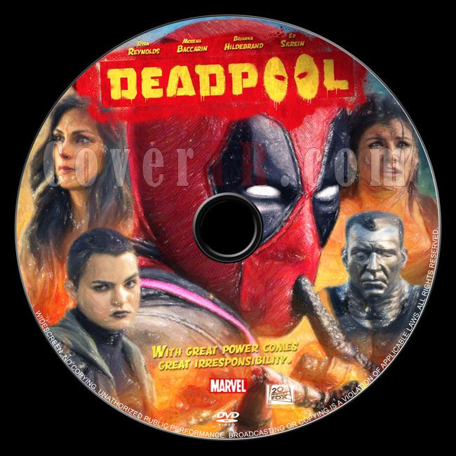 Deadpool - Custom Dvd Label - English [2016]-01jpg