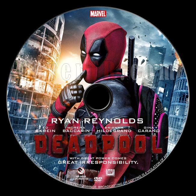 Deadpool - Custom Dvd Label - English [2016]-02jpg