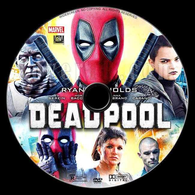 Deadpool - Custom Dvd Label - English [2016]-03jpg