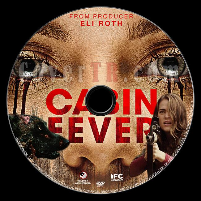 Cabin Fever - Custom Dvd Label - English [2016]-01jpg