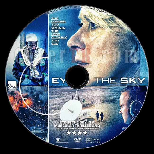 Eye in the Sky (Ölüm Emri) - Custom Dvd Label - English [2015]-d1jpg