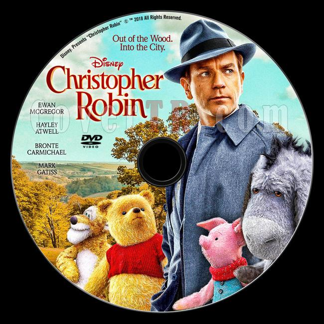 Christopher Robin - Custom Dvd Label - English [2018]-d01jpg