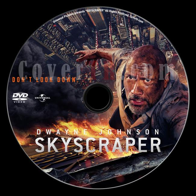 Skyscraper (Gökdelen) - Custom Dvd Label - English [2018]-02jpg