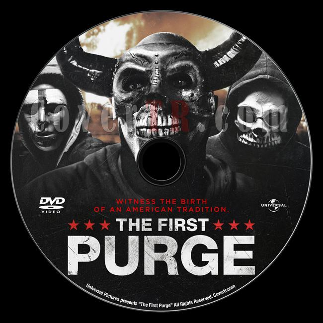 The First Purge (İlk Arınma Gecesi) - Custom Dvd Label - English [2018]-03jpg