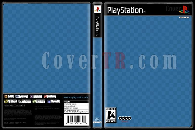 playstation one psx dvd cover template covertr. Black Bedroom Furniture Sets. Home Design Ideas