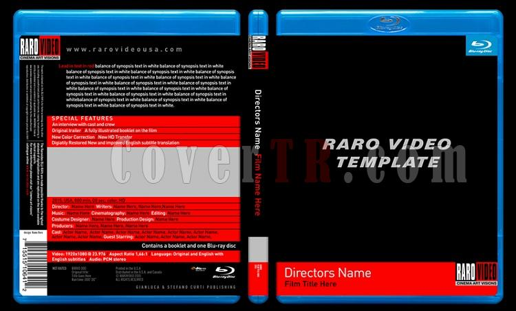 Raro Video Blu-ray Template-rarovideobdtemplatepvjpg