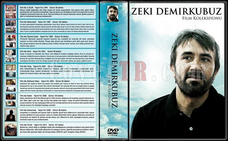 Zeki Demirkubuz  (Koleksiyonu) - Custom Dvd Cover Box Set - Türkçe [1994-2012]-2jpg