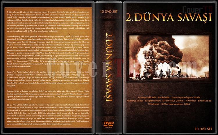 2.Dünya Savaşı Belgeseli - Custom Dvd Cover Box Set - Türkçe-2jpg