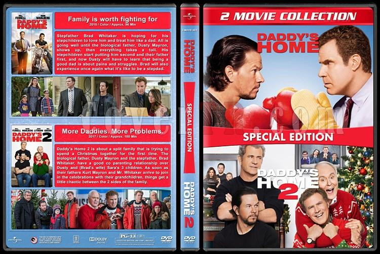 Daddy's Home Collection (Babalar Savaşıyor Koleksiyonu) - Custom Dvd Cover Box Set - English [2015-2017]-1jpg