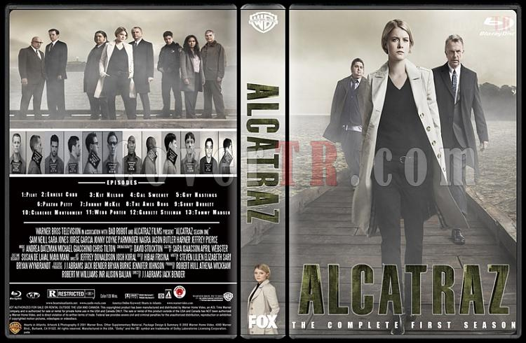Alcatraz (Season 1) - Custom Dvd Cover Box Set - English [2012-?]-pozjpg