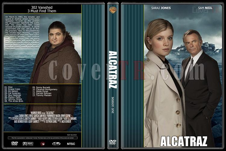 Alcatraz - Season 1 - Custom Dvd Cover - English [2011]-alcatrazjpg