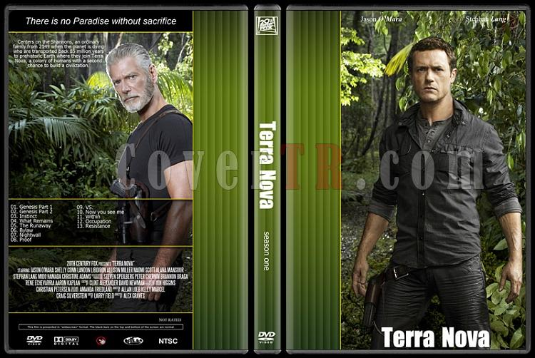 Terra Nova - Season 1 - Custom Dvd Cover - English [2011