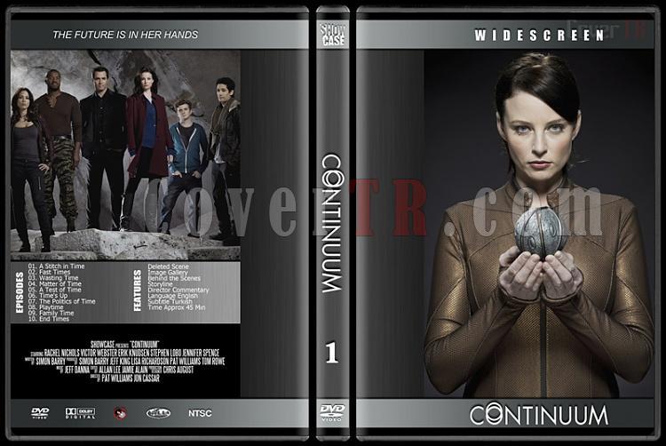 Continuum - Season 1  - Custom Dvd Cover - English [2012]-1jpg