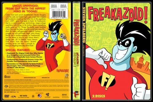 Freakazoid! (Seasons 1-2) - Custom Dvd Cover Box Set - English [1995-1997]-freakazoid-picjpg
