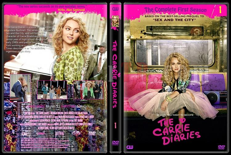 The Carrie Diaries (Season 1) - Custom Dvd Cover - English [2012-?]-dvdjpg