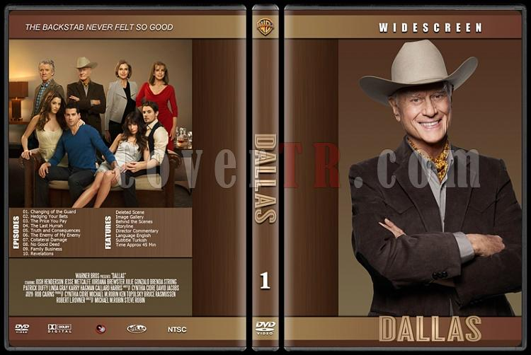 Dallas (Season 1) - Custom Dvd Cover - English [2012]-dallasjpg