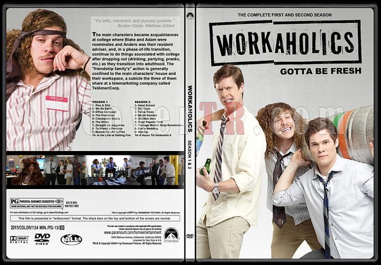 Workaholics (Seasons 1-2) - Custom Dvd Cover Box Set - English [2011-?]-workaholicsjpg