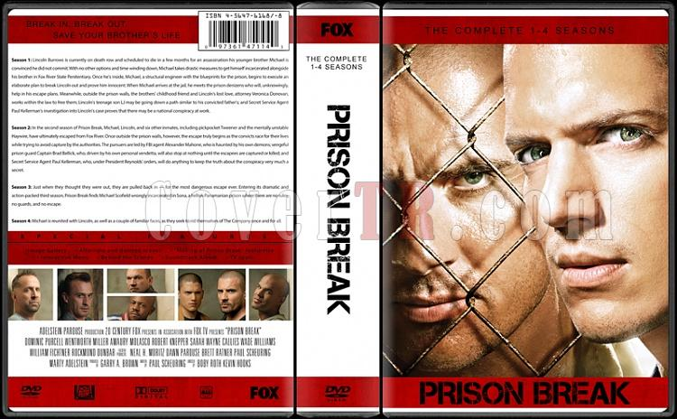 Prison Break (Seasons 1-4) - Custom Dvd Cover Box Set - English [2005-2009]-prisonjpg