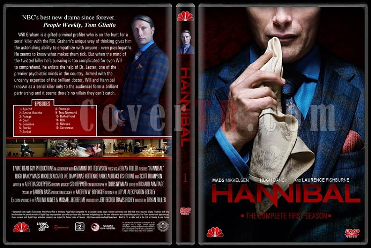Hannibal (Season 1) - Custom Dvd Cover - English [2013-?]-standardjpg