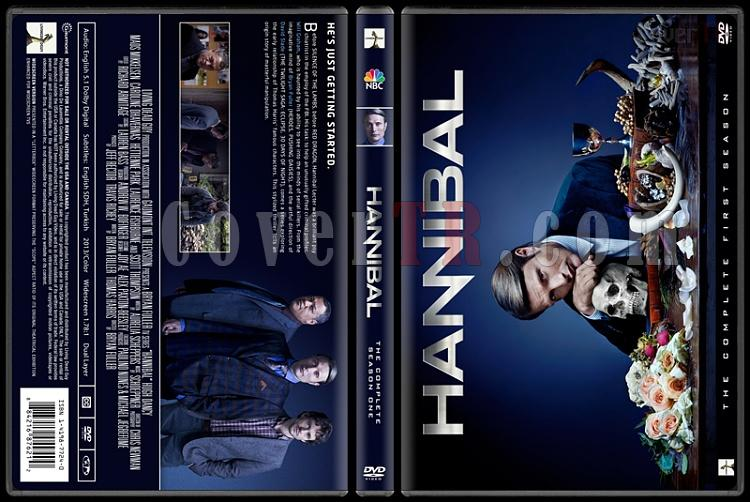Hannibal (Season 1) - Custom Dvd Cover - English [2013]-hannibaljpg
