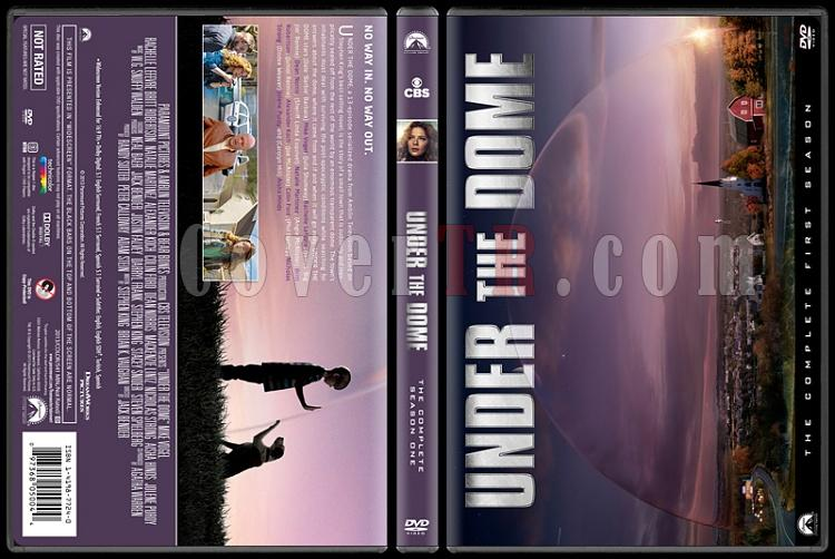 Under The Dome (Season 1) - Custom Dvd Cover - English [2013]-covertr-dvdjpg