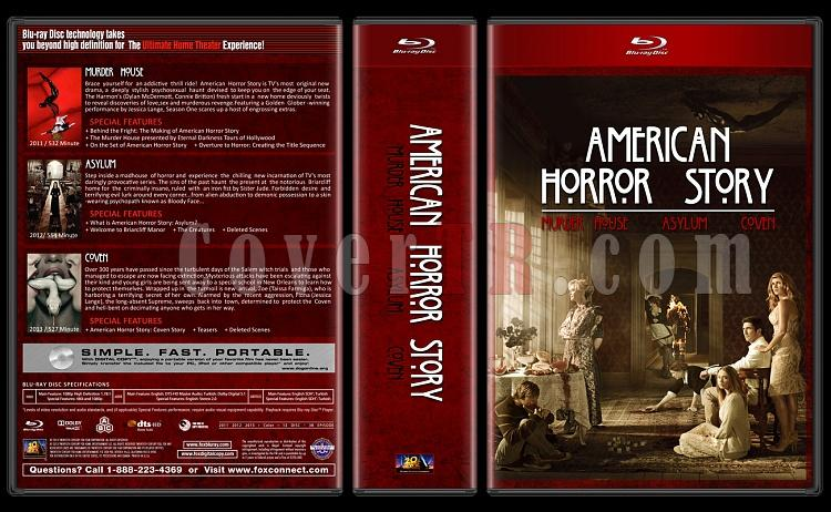 American Horror Story - Custom Dvd Cover Box Set - English [2011-2013]-sgsgjpg