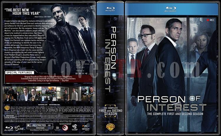 Person of Interest (Seasons 1-2) - Custom Dvd Cover Box Set - English [2011-2013]-12disc-3520x2160-450-flatjpg
