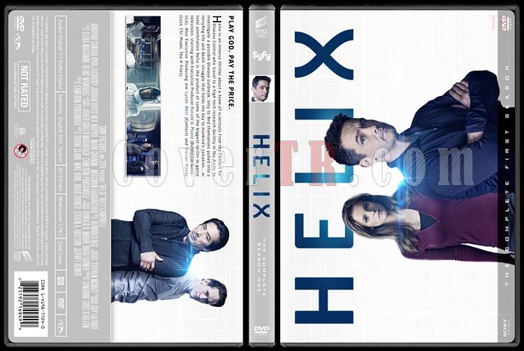 Helix (Season 1) - Custom Dvd Cover - English [2014]-helixjpg