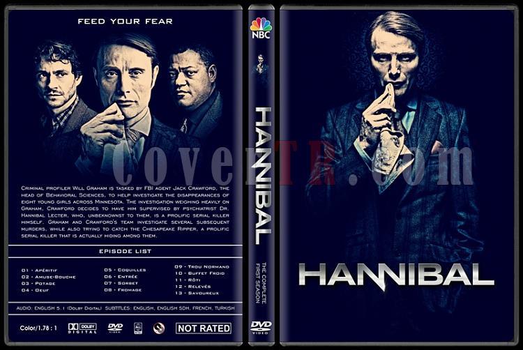 Hannibal (Season 1) - Custom Dvd Cover - English [2013-?]-hannibal-season-1-ctrjpg