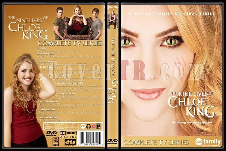 The Nine Lives of Chloe King - Custom Dvd Cover - English [2011]-chloe_capsjpg