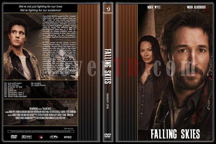 Falling Skies (Season 1) - Custom Dvd Cover - English [2011]-falling-skiesjpg