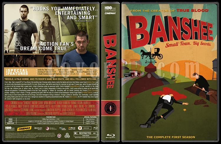 Banshee (Season 1) - Custom Dvd Cover - English [2013]-bansjpg