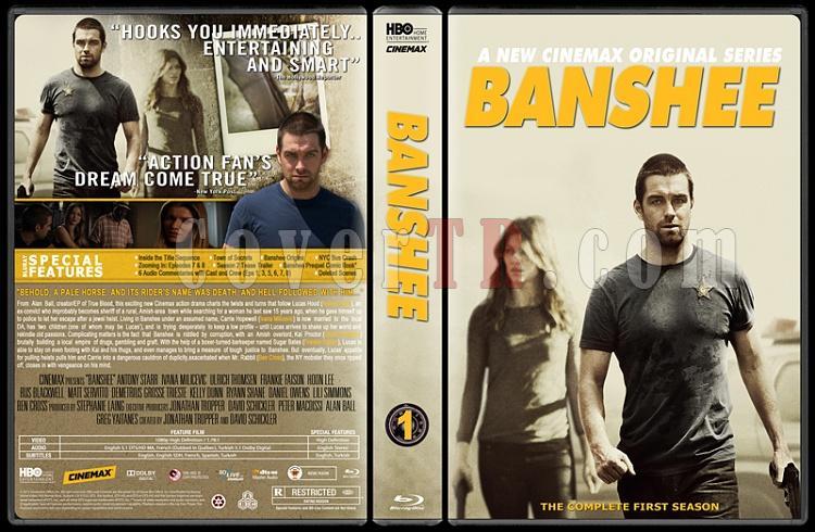 Banshee (Season 1) - Custom Dvd Cover - English [2013]-bansheejpg