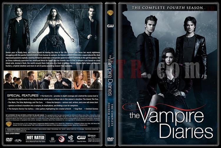 The Vampire Diaries (Season 4) - Custom Dvd Cover - English [2009-?]-vampire-diaries-season-4jpg