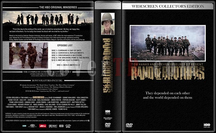 Band of Brothers (Kardeşler Takımı) - Custom Dvd Cover Box Set - English [2001]-band-brothersjpg