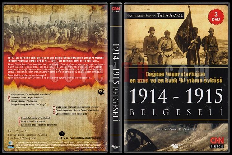 1914-1915 Belgeseli (Dvd 1-3) - Scan Dvd Cover Box Set - Türkçe [2015]-1914-1915-belgeselijpg