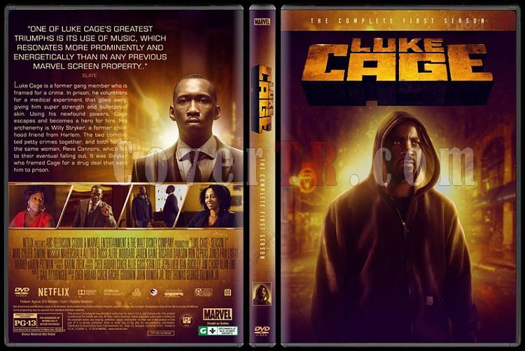 Luke Cage (Season 1) - Custom Dvd Cover Box Set - English [2016-?]-lukecagejpg