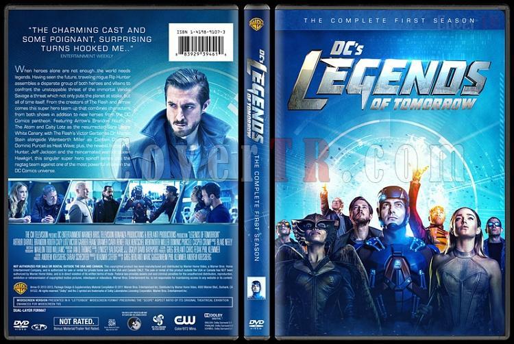 Legends of Tomorrow  (Season 1) - Custom Dvd Cover Box Set - English [2016-?]-standardjpg