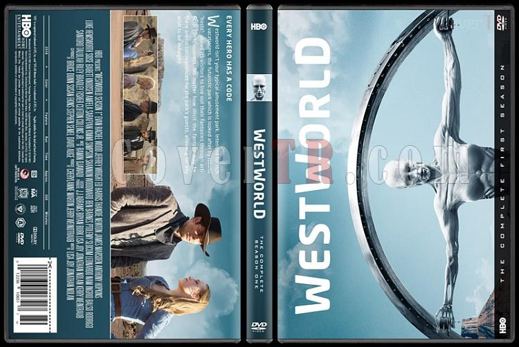 Westworld (Season 1) - Custom Dvd Cover Box Set - Türkçe [2016-?]-standardjpg