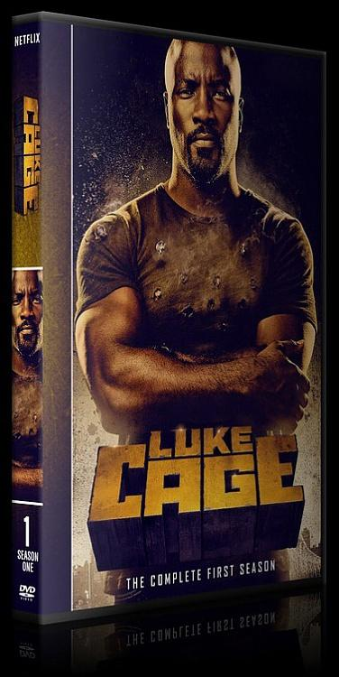 Luke Cage (Season 1) - Custom Dvd Cover - English [2016-?]-lukejpg